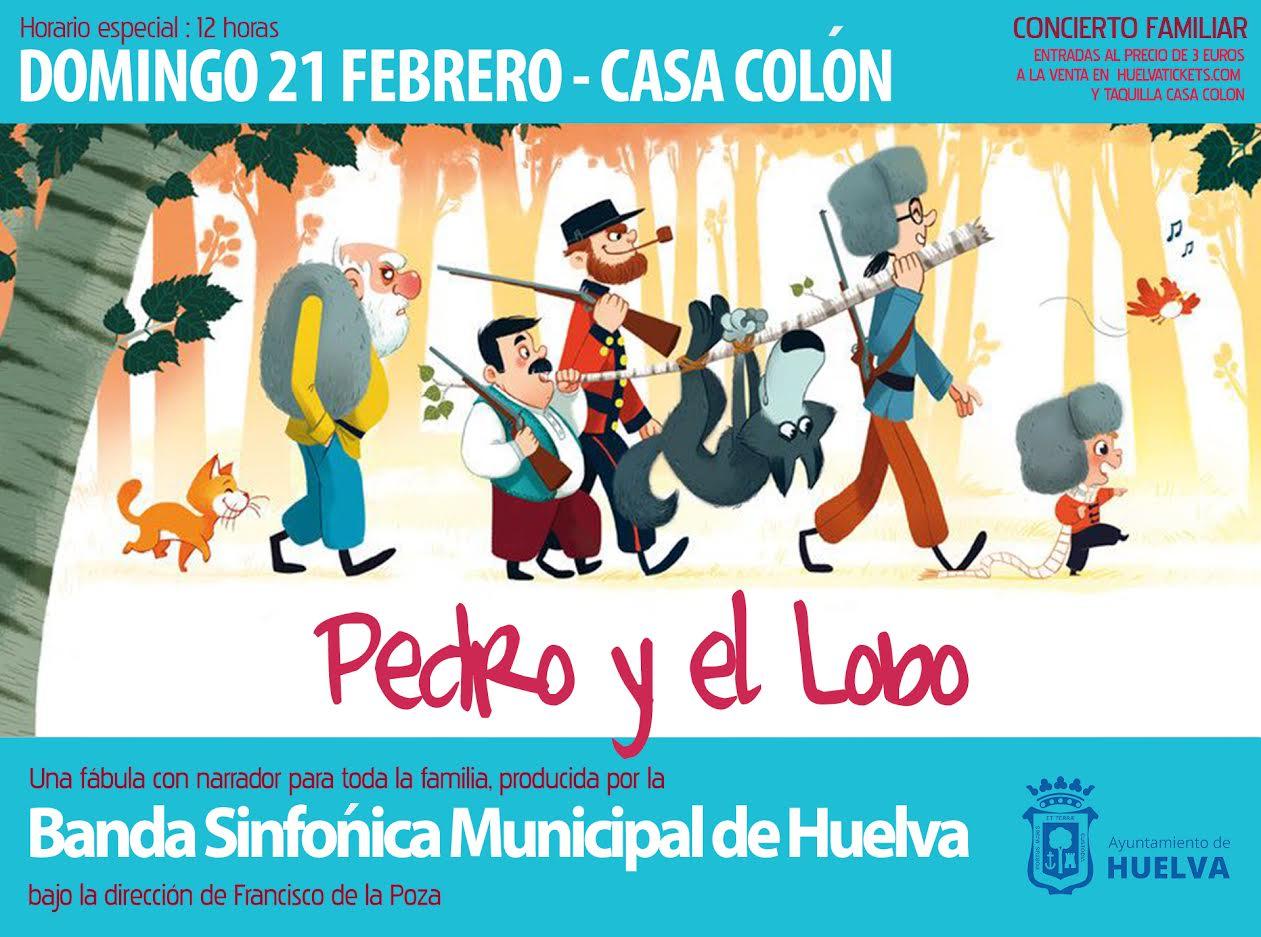 Pedro y el lobo fábula infantil para toda la familia Banda sinfónica municipal