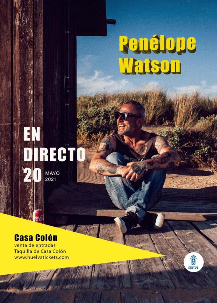 Penélope Watson en concierto presenta su último trabajo el 20 de mayo en el Auditorio de la Casa Colón 2021