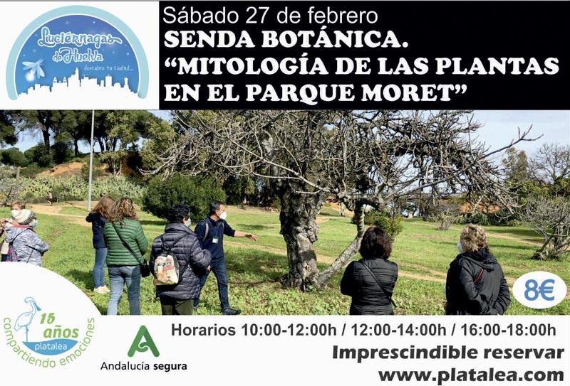 Visita guiada botánica Parque Moret Febrero 2021 platalea