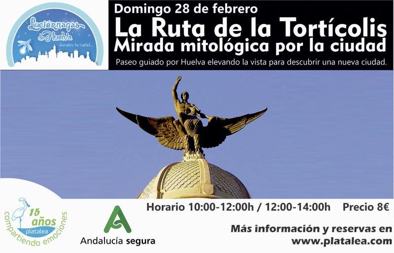 Visita Tortícolis por Huelva con Platalea Actividades Cultura 2021 Febrero
