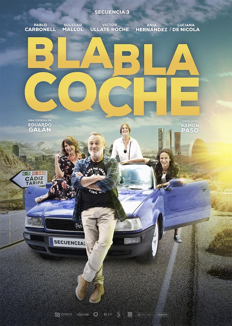 bla bla coche comedia de situación en Huelva sábado 10 de abril comedia auditorio casa colón