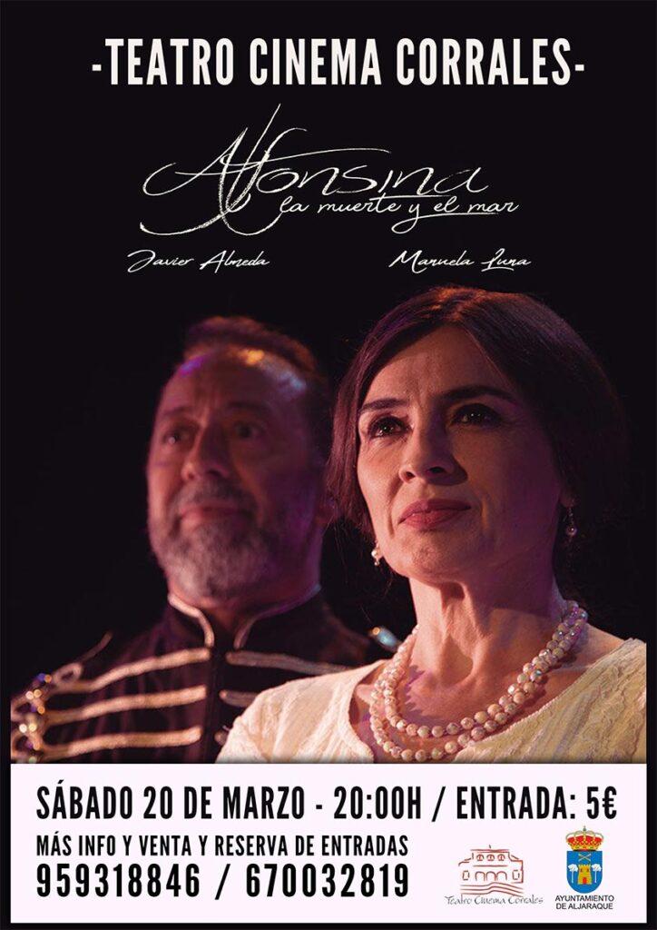 Teatro corrales Alfonsina la muerte y el mar 20 de marzo 2021