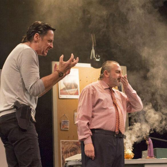 el asesino de la regañá 17 de abril en Corrales Huelva Teatro Cinema 2021 comedia