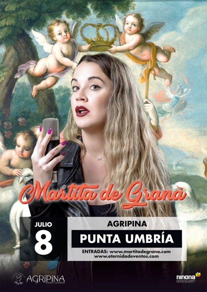 Martita de Graná Huelva Monólogo Punta Umbría 8 de julio Agripina