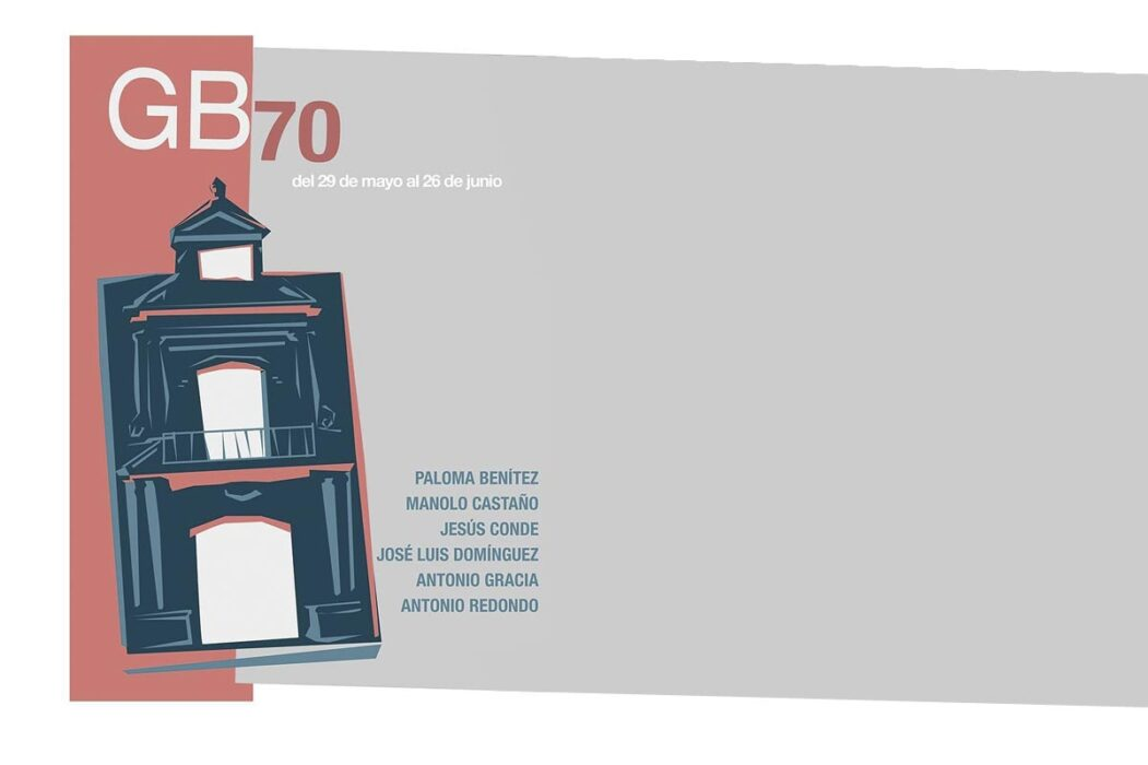 Exposición Colectiva Gonzalo Bilbao en Espacio 0 GB70 galería Paloma Benítez, Manolo Castaño, Jesús Conde, José Luis Domínguez y Antonio Redondo