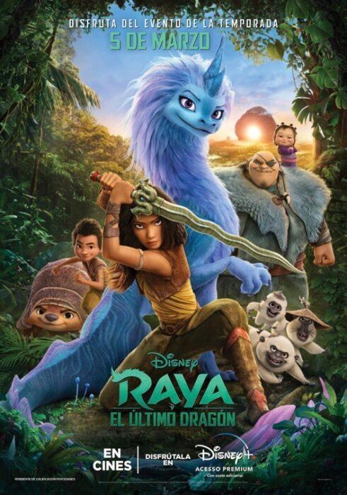 Cine Huelva Cartelera Raya y el último dragón taquilla Holea Aqualon