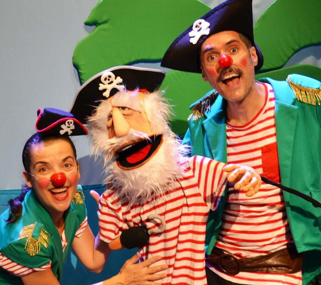 Panda Pirata Festival de Teatro infantil trigueros martes de Julio