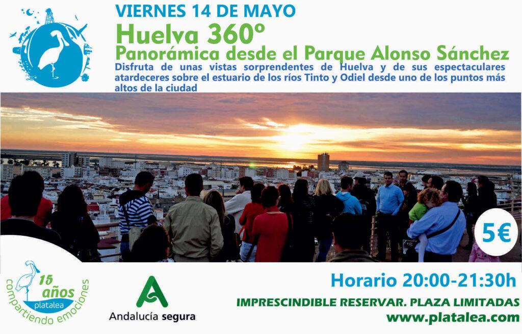 Actividad Panorámica Huelva platalea 360 Alonso Sánchez