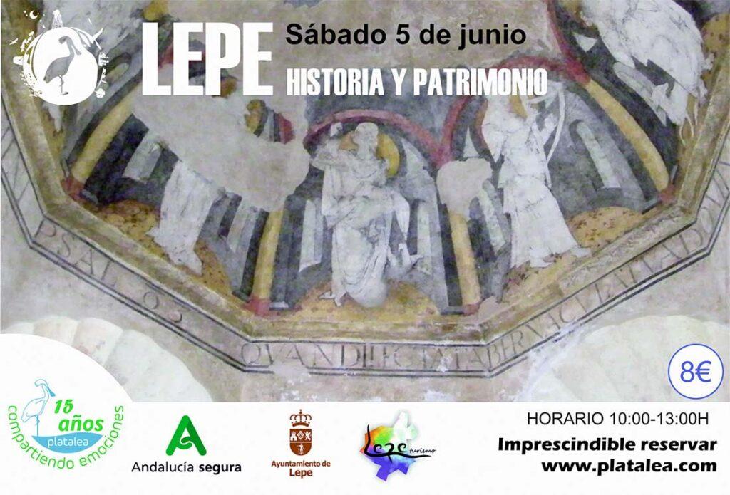 visita guiada lepe historia patrimonio platalea actividades actividad 5 de junio