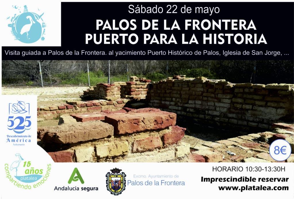 visita guiada Palos de la Frontera puerto para la historia descubrimiento 2021 actividades Huelva