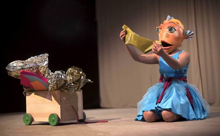 Uanna Teatro fábula para niños clicole 4 de Junio en Almonte