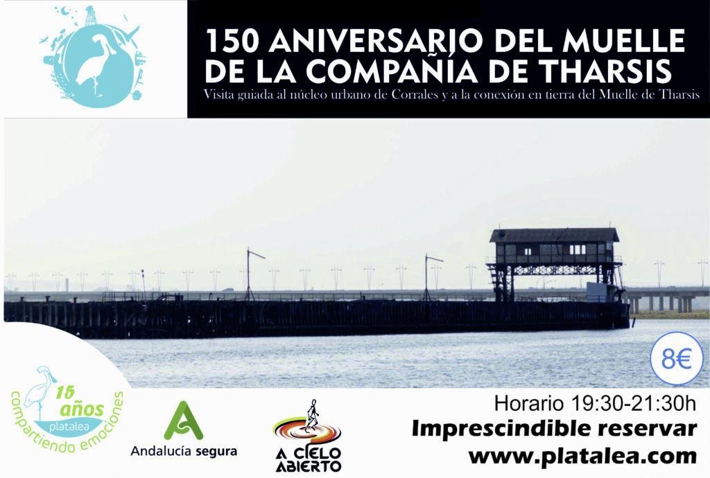 visita guiada Corrales y la relación muelle de Tharsis actividad guidada platalea cultura y patrimonio Huelva