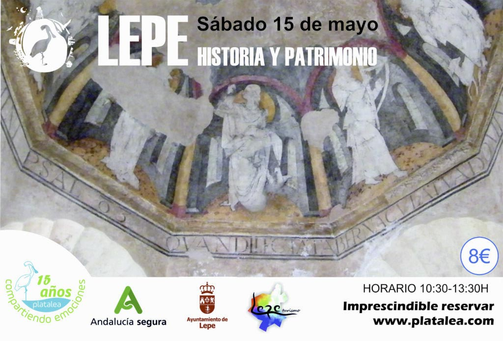 visita guiada lepe historia patrimonio platalea actividades actividad