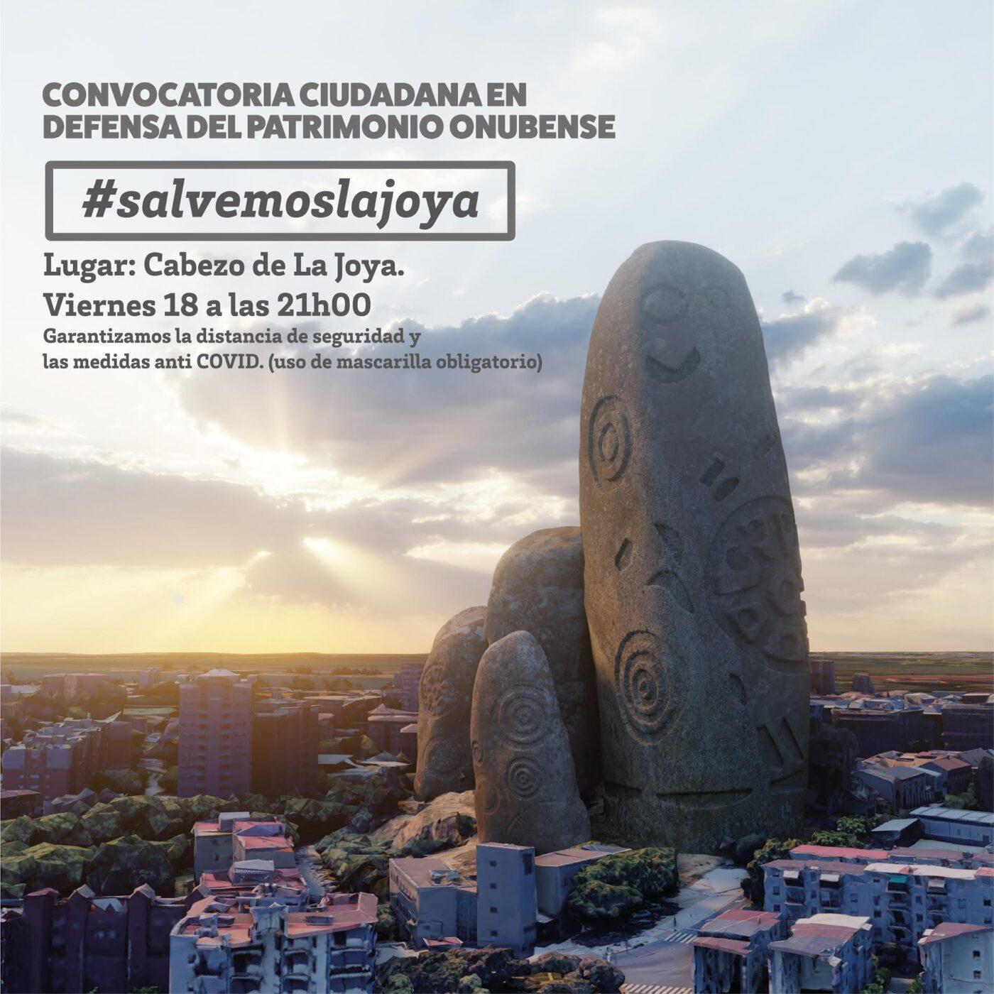 Huelva se moviliza por el Cabezo de La Joya Patrimonio Onubense