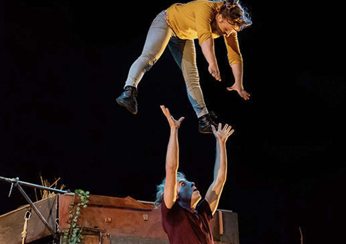 acrobacias mazagon circo