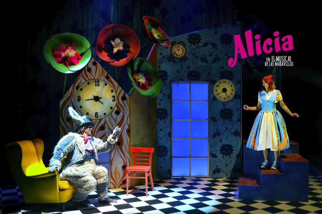 Musical Alicia en el pais de las maravillas 12 agosto huelva