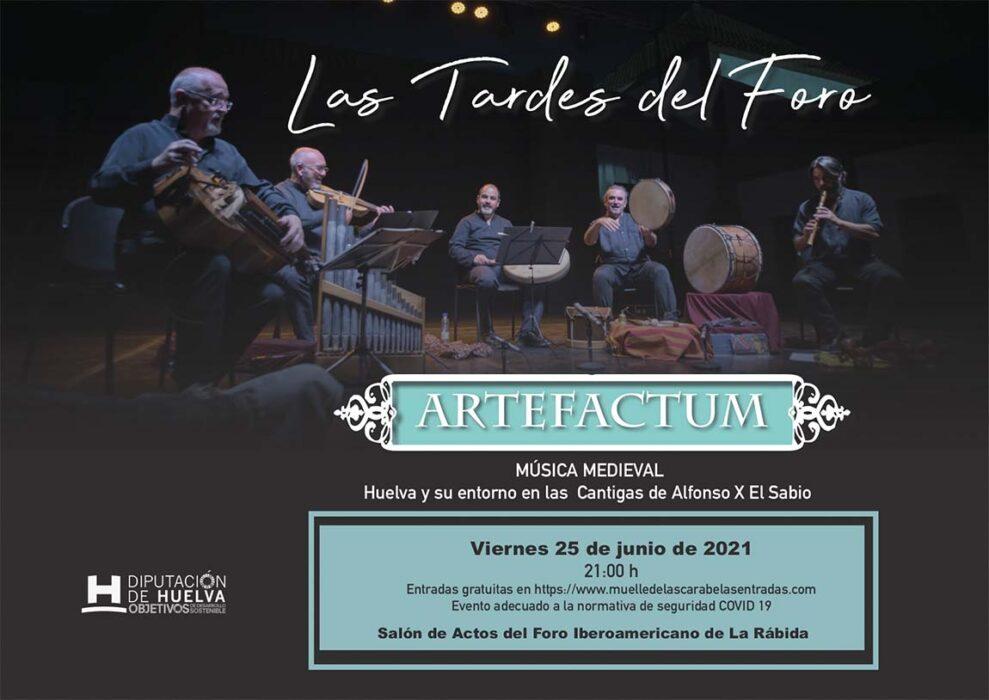concierto musica medieval Artefactum tardes del foro 2021