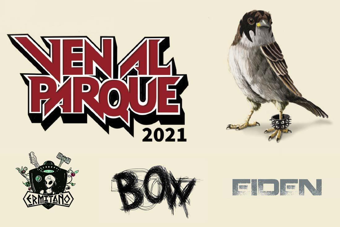 conciertos ven al parque 2021 bow eiden ermitano