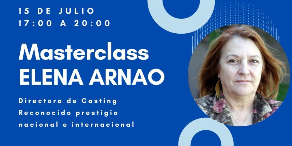 masterclass elena arnao Huelva