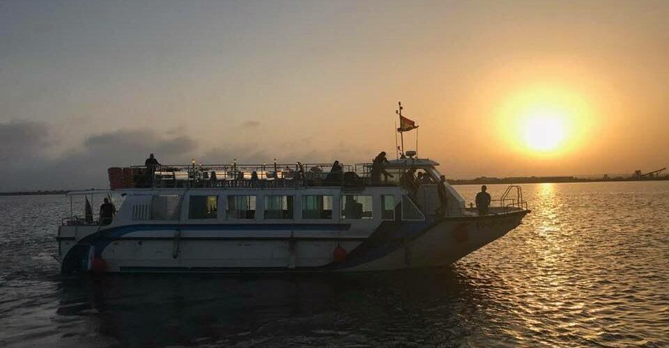 paseo en barco por las marismas del odiel que hacer en Huelva