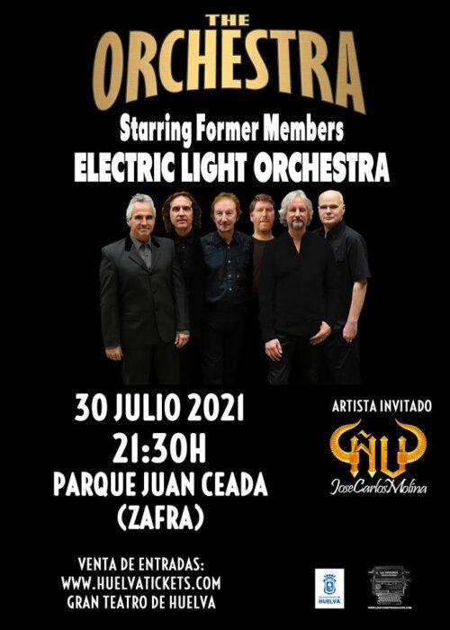 the orchestra miembros de elo electric light orchestra nu invitado parque zafra 30 julio 2021 huelva