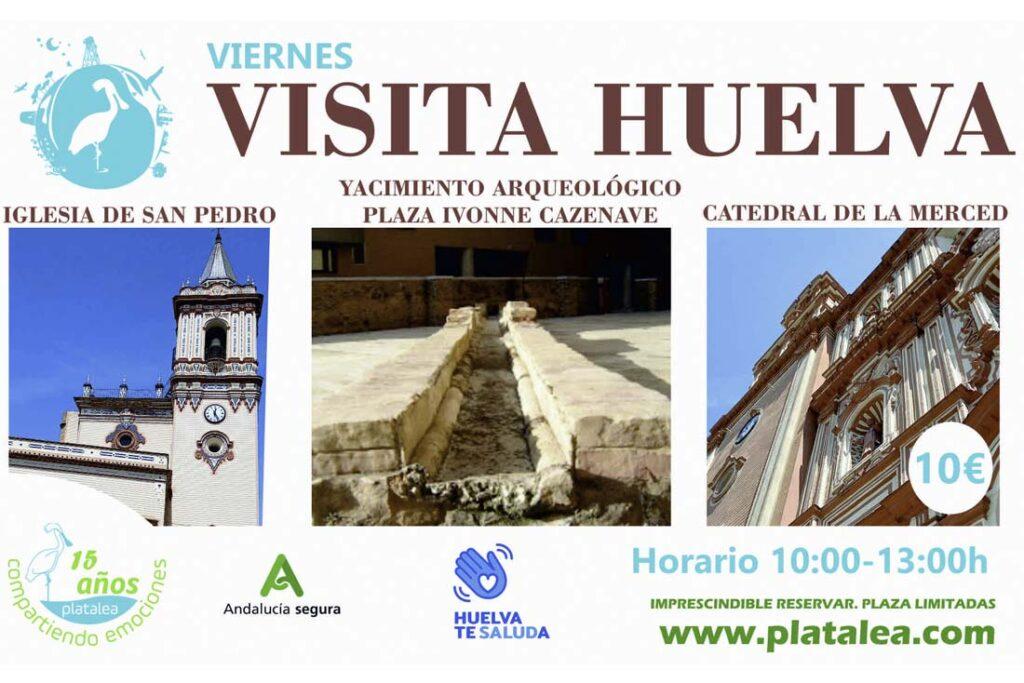 visitas guiadas huelva viernes turismo platalea verano 2021