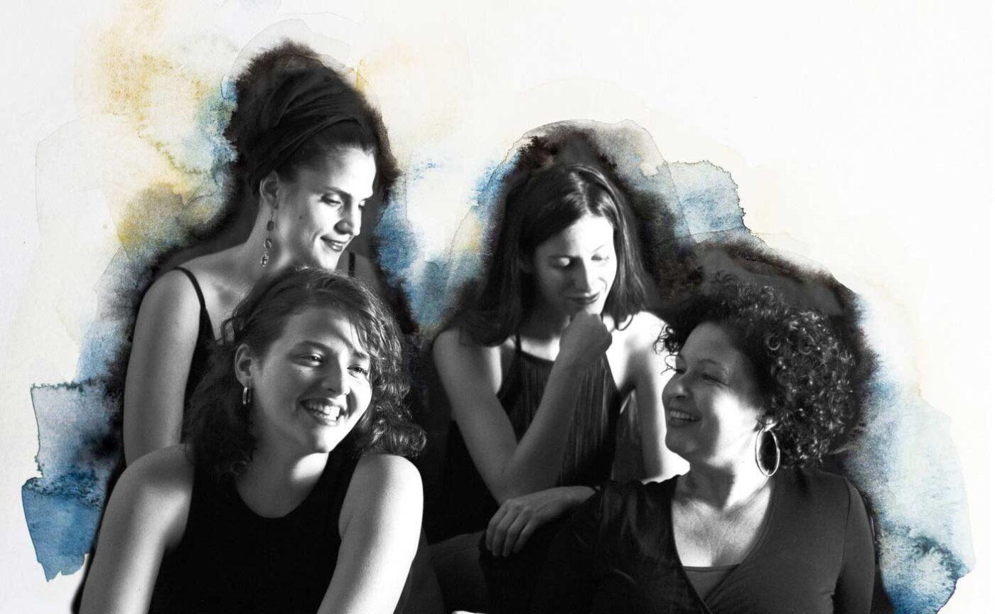 4 women quartet jazz chiringuito enebral punta umbria