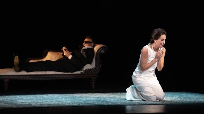 Diva Albert Boadella maria callas teatro lirico en Huelva