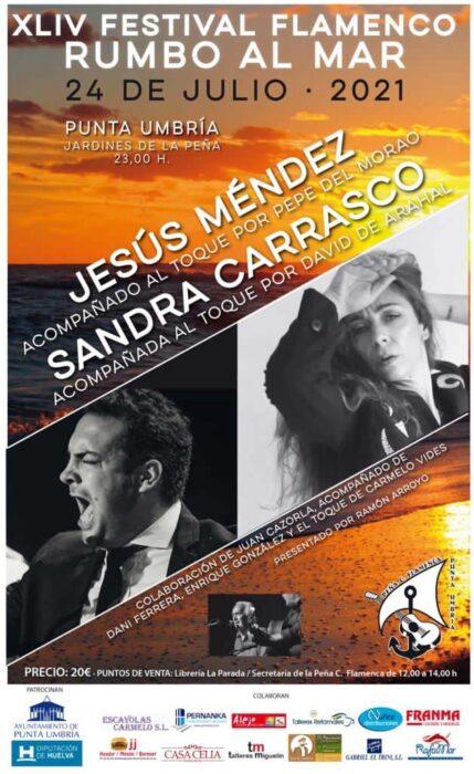 festival rumbo al mar sandra carrasco jesus mendez 24 julio 2021