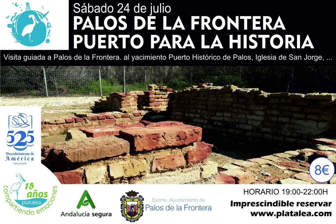 visitas guiadas palos de la frontera yacimiento puerto historico palos guiada iglesia de san jorge