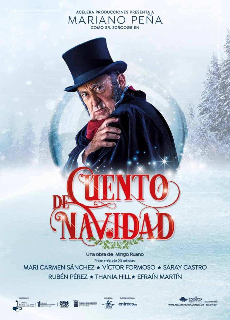 Cuento de Navidad, el clásico musical navideño llega a Huelva con Mariano Peña
