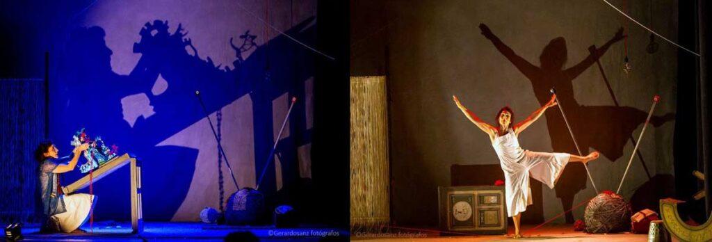 hilos teatro circo espectaculo infantil festival anfitrion huelva cocheras del puerto
