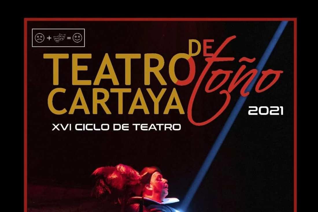 programacion teatro cartaya otono septiembre octubre noviembre