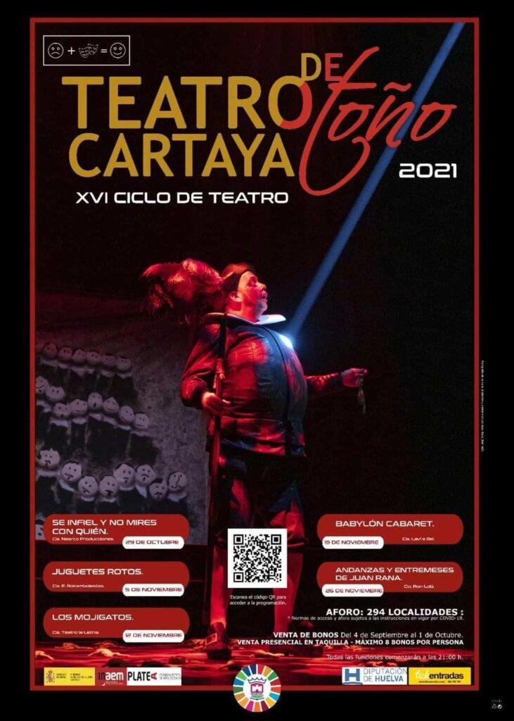 programacion teatro en cartaya otono septiembre octubre noviembre