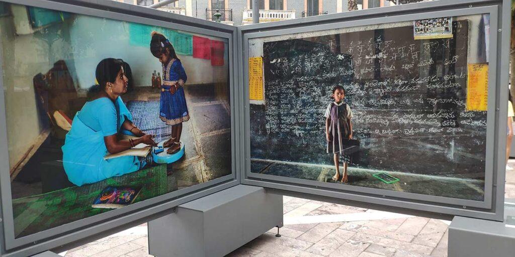 Exposicion fotografia plaza de las monjas Cristina Garcia Rodero Tierra de Suenos
