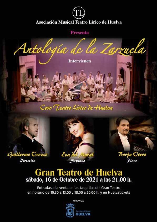 antologia de la zarzuela coro teatro lirico de Huelva