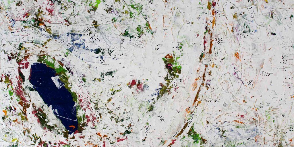 espacio rubens arte Huelva exposicion de dibujos desde el aire pablo fernandez ans en espacio rubens septiembre 2021