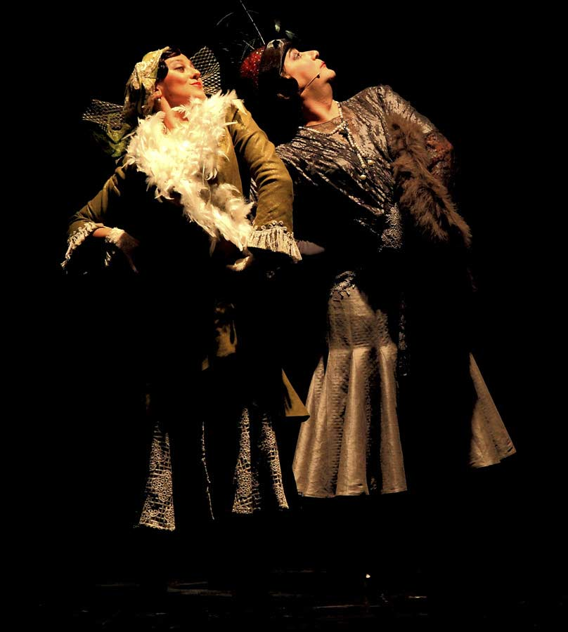 la gloria de mi mare teatro choni cia bailaora flamenco humor