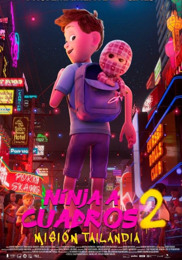 ninja a cuadros 2 cartelera cine infantil huelva mision tailandia