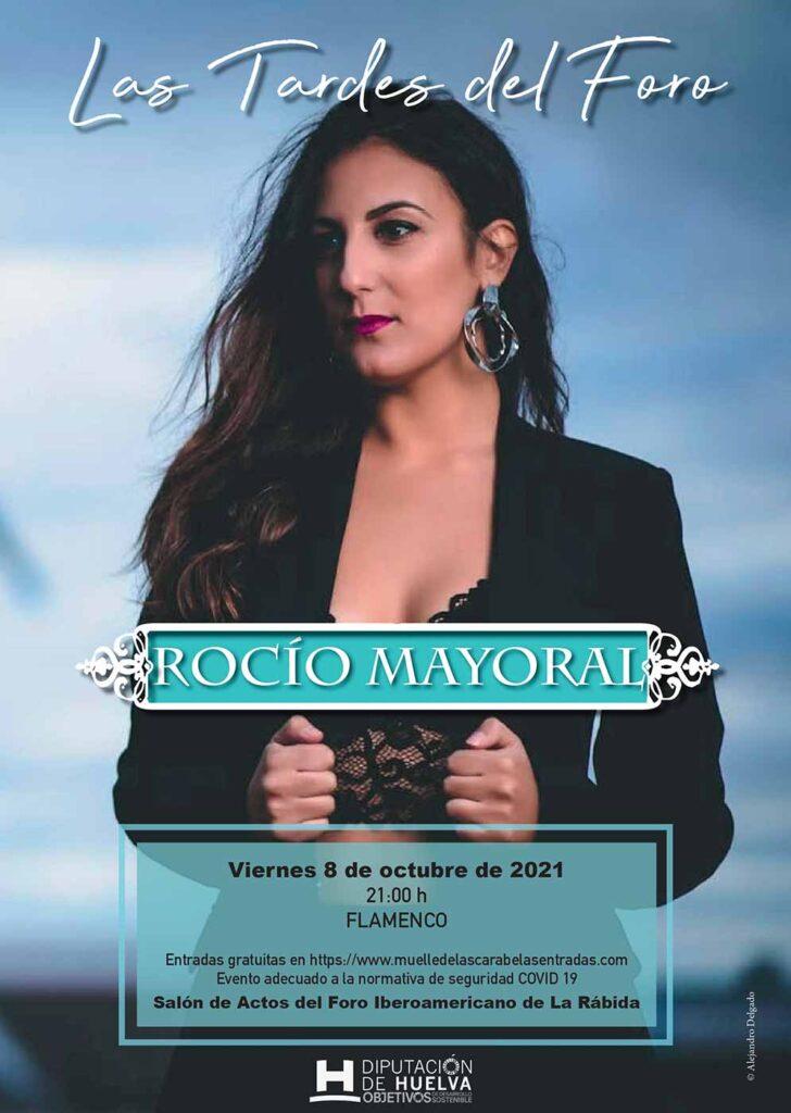 rocio mayoral en concierto en las tardes del foro 8 de octubre concierto flamenco 2021
