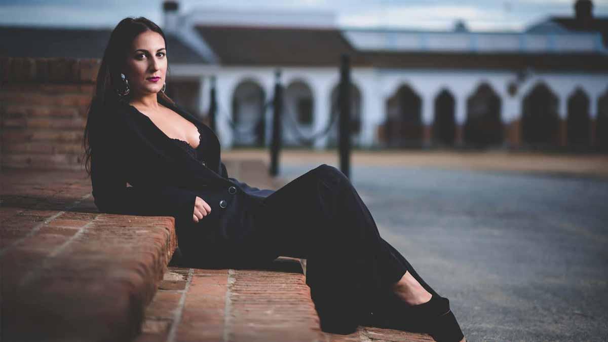 rocio mayoral las tardes del foro 8 de octubre concierto flamenco 2021 Iberoamericano de la Rábida