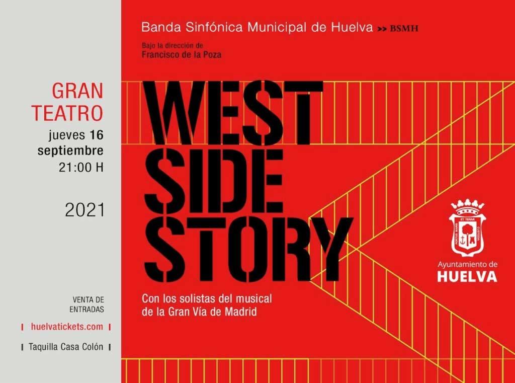 west side story con la sinfonica municipal dirigida por francisco de la poza con solistas del musical de gran via madrid 16 septiembre