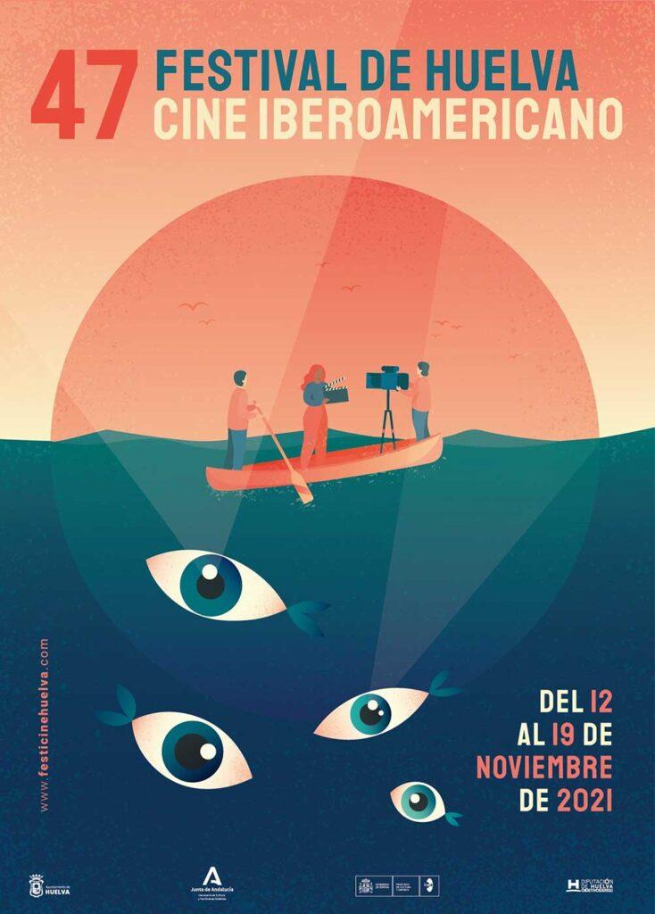 cartel festival de cine iberoamericano de Huelva 2021