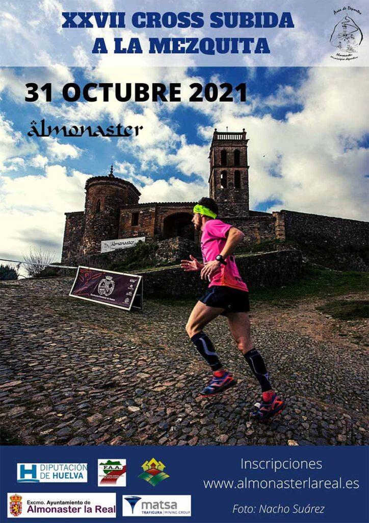 cross subida a la mezquita Almonaster la Real 31 de octubre 2021