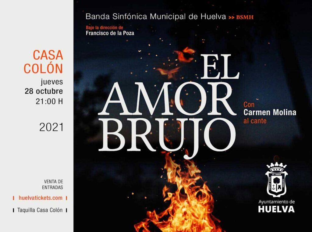 el amor brujo Casa Colon de Huelva Banda Sinfonica Municipal