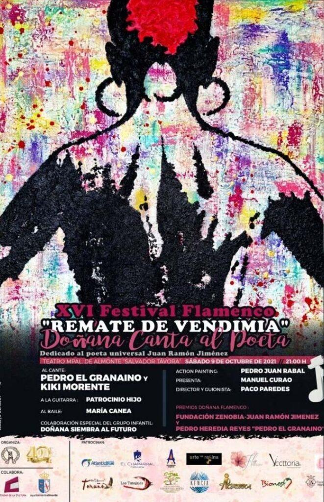 festival de flamenco remate de vendimia Almonte 2021