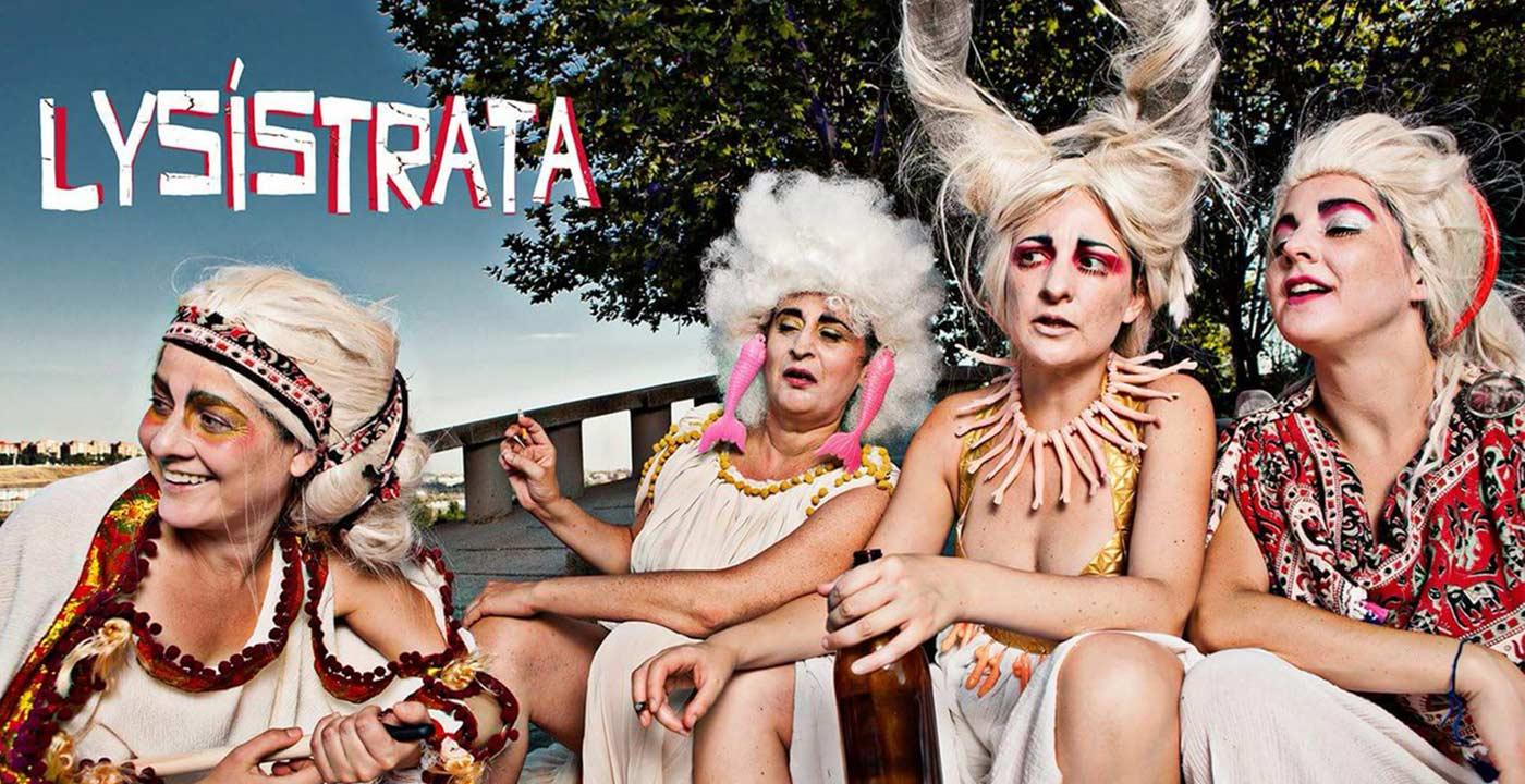 Las niñas de Cádiz Lysístrata comedia teatro