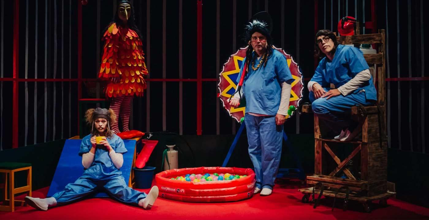 las ratas teatro exiguo comedia dramática en el teatro Sierra de Aracena 11 de diciembre de 2021